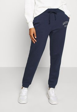 American Eagle - INTERNATIONAL BRANDED JOGGER - Jogginghose - navy