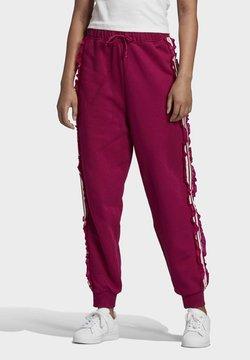 adidas Originals - BELLISTA SPORTS INSPIRED JOGGER PANTS - Jogginghose - power berry