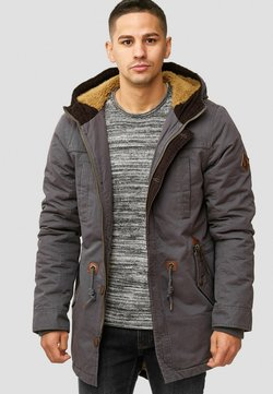 INDICODE JEANS - Wintermantel - dark grey