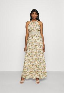 Vila - VIMILINA FLOWER DRESS - Ballkleid - sandshell