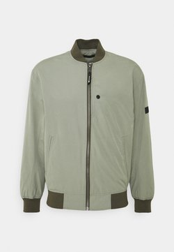 TOM TAILOR DENIM - CLEAN  - Giubbotto Bomber - greyish shadow olive