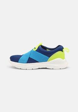 Superfit - FLASH - Sneaker low - blau/gelb