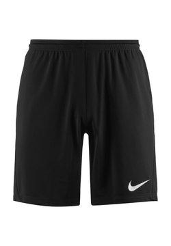 Nike Performance - DRY PARK III - kurze Sporthose - black / white