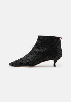 Pura Lopez - Korte laarzen - swanky black