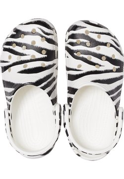 Crocs - ANIMAL PRINT  - Clogs - white / zebra print