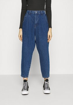 ONLY - ONLVERNA BALLOON  - Jeans relaxed fit - dark blue denim