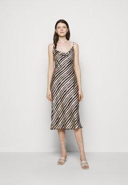 Milly - LOLA BRUSHSTOKE DRESS - Cocktailkleid/festliches Kleid - blush/black