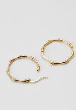 LIARS & LOVERS - BAMBOO HOOPS - Earrings - gold