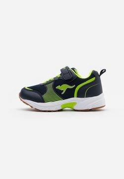 KangaROOS - NIKO II - Sneakers laag - dark navy/lime