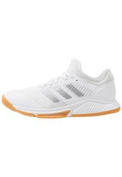 adidas Performance - COURT TEAM BOUNCE - Chaussures de handball - footwear white/silver metallic
