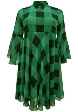 Yoek - CHECK PRINT - Freizeitkleid - green