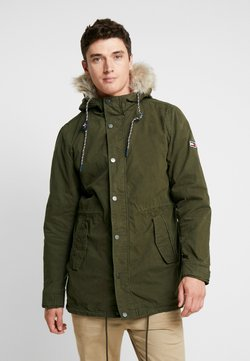 Tommy Jeans - LINED  - Parka - forest night