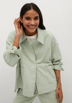 Mango - Let jakke / Sommerjakker - mint green