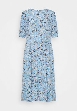PIECES Tall - PCGERTRUDE DRESS  - Freizeitkleid - little boy blue