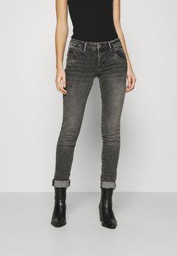 Mavi - LINDY - Jeans Slim Fit - smoke random