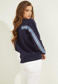 Guess - LOGO LETTERING - Sweatshirt - blau