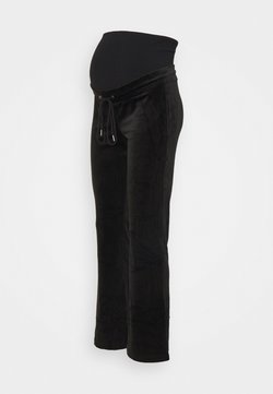 Lindex - MOM ROSE  - Pantalones deportivos - black