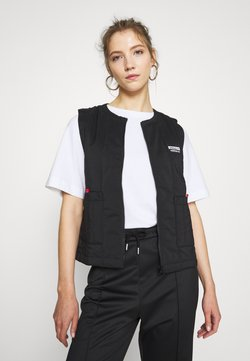 adidas Originals - SPORTS INSPIRED REGULAR VEST - Smanicato - black