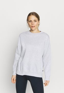 Cotton On Body - LONG SLEEVE CREW - Collegepaita - grey marle