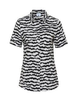 DESOTO - Hemdbluse - creme zebra print
