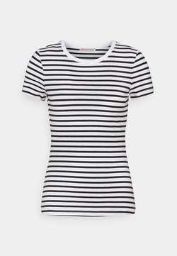 Anna Field - T-Shirt print - white/black
