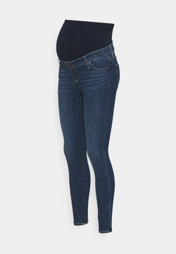 GAP Maternity - RINSE - Jeans Skinny Fit - dark indigo