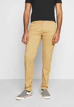 Tommy Jeans - SCANTON PANT - Chinot - classic khaki