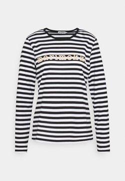 Marimekko - LOGO MARI  - Langarmshirt - black/white
