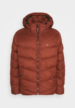 G-Star - WHISTLER PUFFER - Winterjacke - dry red