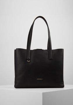 Coccinelle - MATINEE - Shopping Bag - noir/curacao