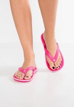 Crocs - CROCBAND FLIP - Tohvelit - paradise pink/white