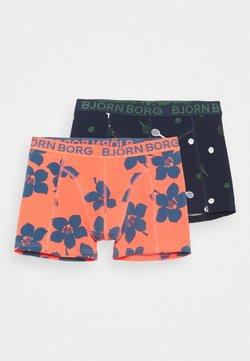 Björn Borg - TENNIS MATCH SAMMY SHORTS 2 PACK - Panties - night sky