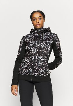 Roxy - FROST PRINTED - Fleecejacke - true black izi