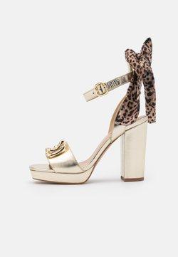Liu Jo Jeans - HEBE - Sandalias con plataforma - light gold