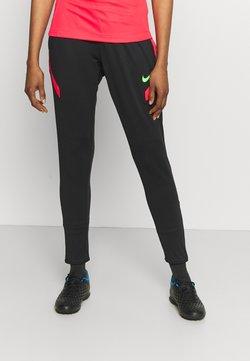 Nike Performance - PANT - Pantalones deportivos - black/siren red/green strike