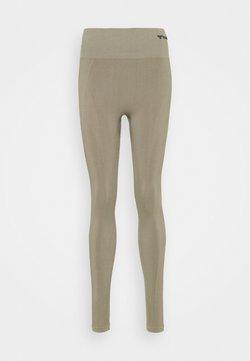 Hummel - SEAMLESS HIGH WAIST  - Medias - vetiver