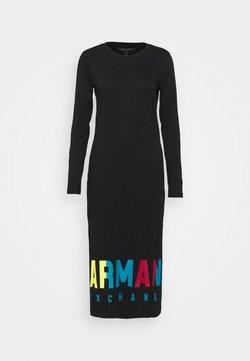 Armani Exchange - DRESS - Jersey dress - black