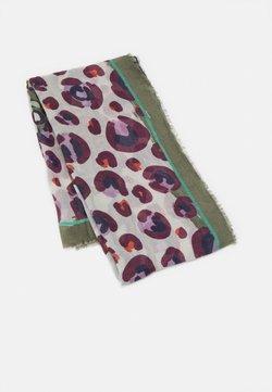 PARFOIS - PRINTED SCARF BLURRY LINES - Foulard - khaki