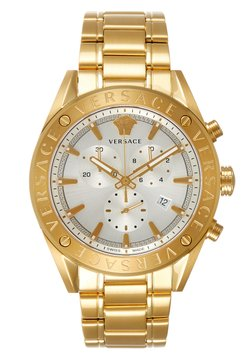 Versace Watches - V- CHRONO - Zegarek chronograficzny - gold-coloured