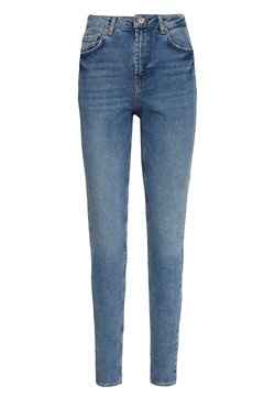 PIECES Tall - PCLEAH MOM - Jeans baggy - medium blue denim
