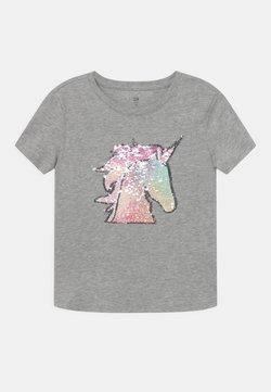 GAP - GIRL FLIPPY - T-Shirt print - light heather grey