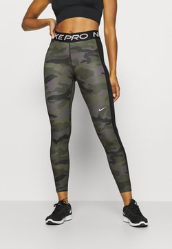 Nike Performance - TIGHT 7/8 CAMO - Trikoot - thunder grey/black/white