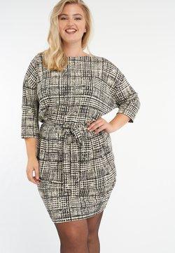 MS Mode - Freizeitkleid - multi zwart-wit