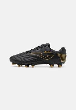 Joma - AGUILA - Voetbalschoenen met kunststof noppen - black/gold