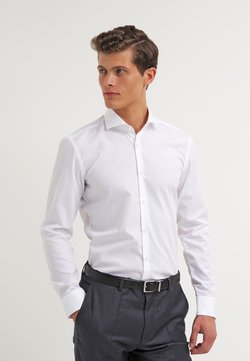 HUGO - JASON SLIM FIT - Camicia elegante - open white