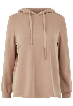 MAMALICIOUS - Jersey con capucha - warm taupe