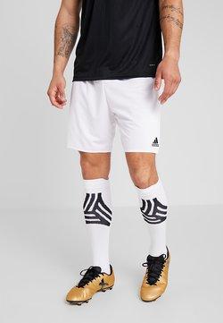 adidas Performance - PARMA PRIMEGREEN FOOTBALL 1/4 SHORTS - kurze Sporthose - white/black