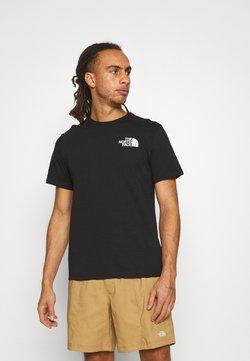 The North Face - IC CLIMB GRAPHIC TEE - Print T-shirt - black
