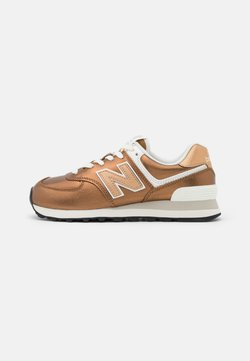 New Balance - WL574 - Matalavartiset tennarit - copper
