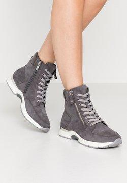 Caprice - BOOTS - Schnürstiefelette - dark grey